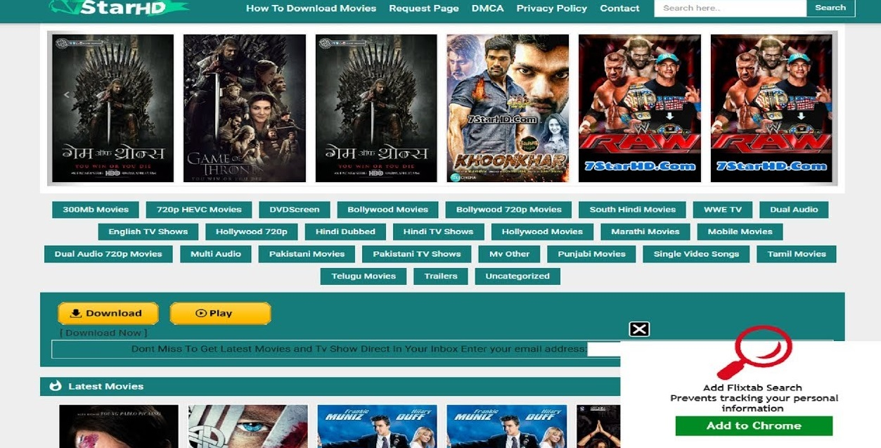 7starhd Download Hollywood Bollywood Dubbed 300mb Movies In Hd