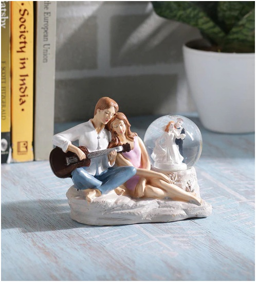 A Love birds Miniature Statuette