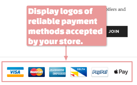 Employ reliable payment gateway systems