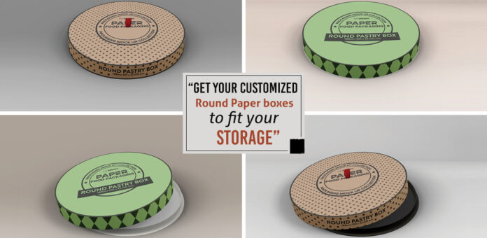 Get your Customized Round Paper Boxes to fit your storage (1)