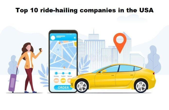 Top 10 ride-hailing companies in the USA