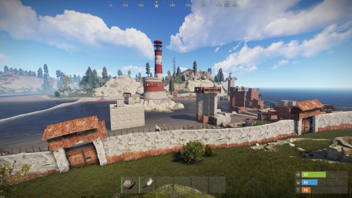 Most Common Monuments in Rust